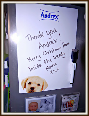 Thank you Andrex