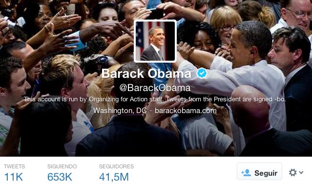 Presidentes en twitter