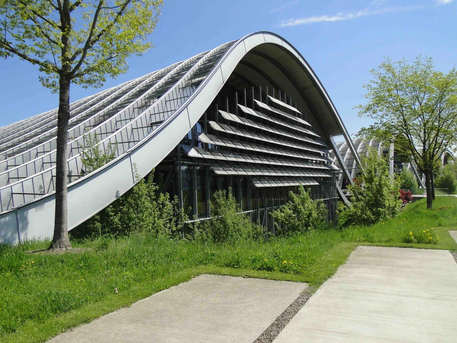B atrice de le mus e paul klee berne architecture for Architecture contemporaine