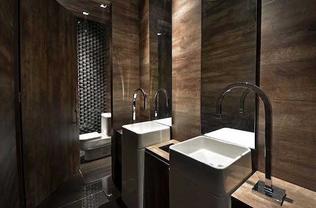 Arquitetura sem mist rio lavabo minimalista for Lavabo minimalista