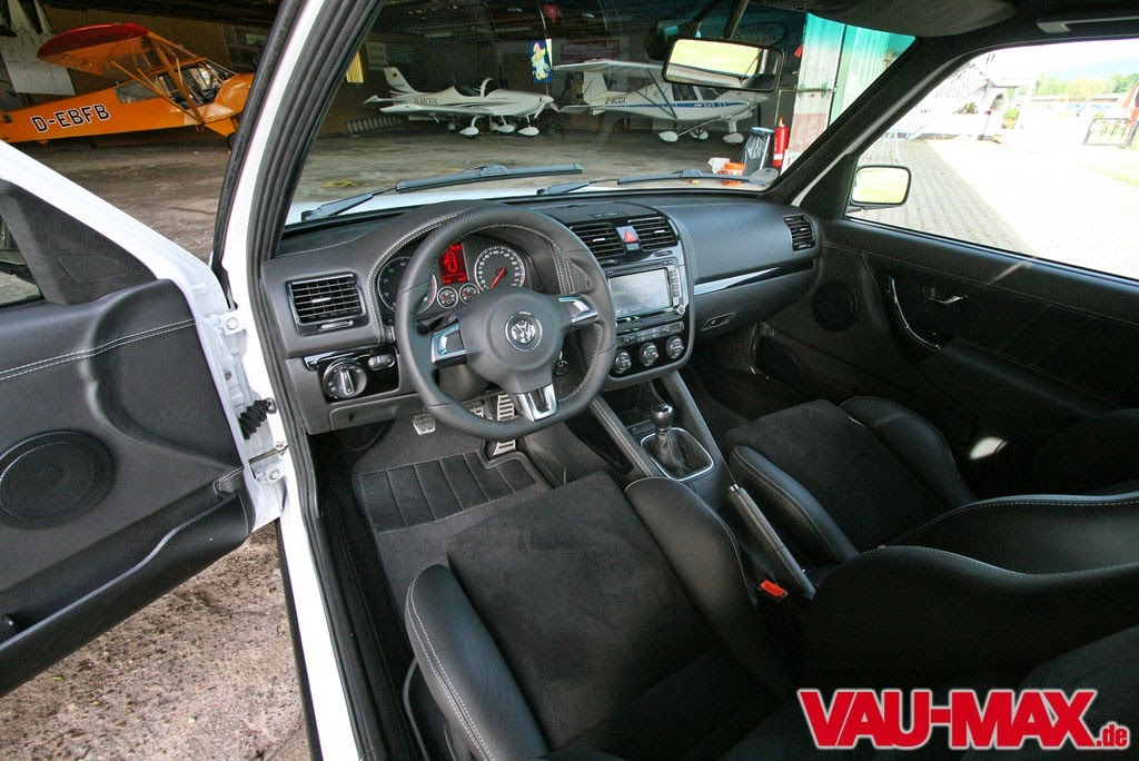 Germany cars tuning golf mk2 with mk5 interior for Interieur tuning auto