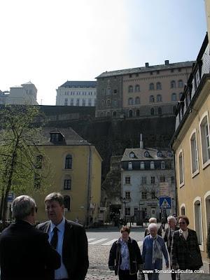 luxemburg -cartierul juridic vazut de jos