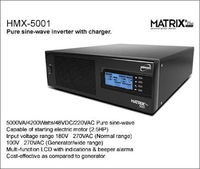 HMX 5001 Homage Matrix UPS Inverter