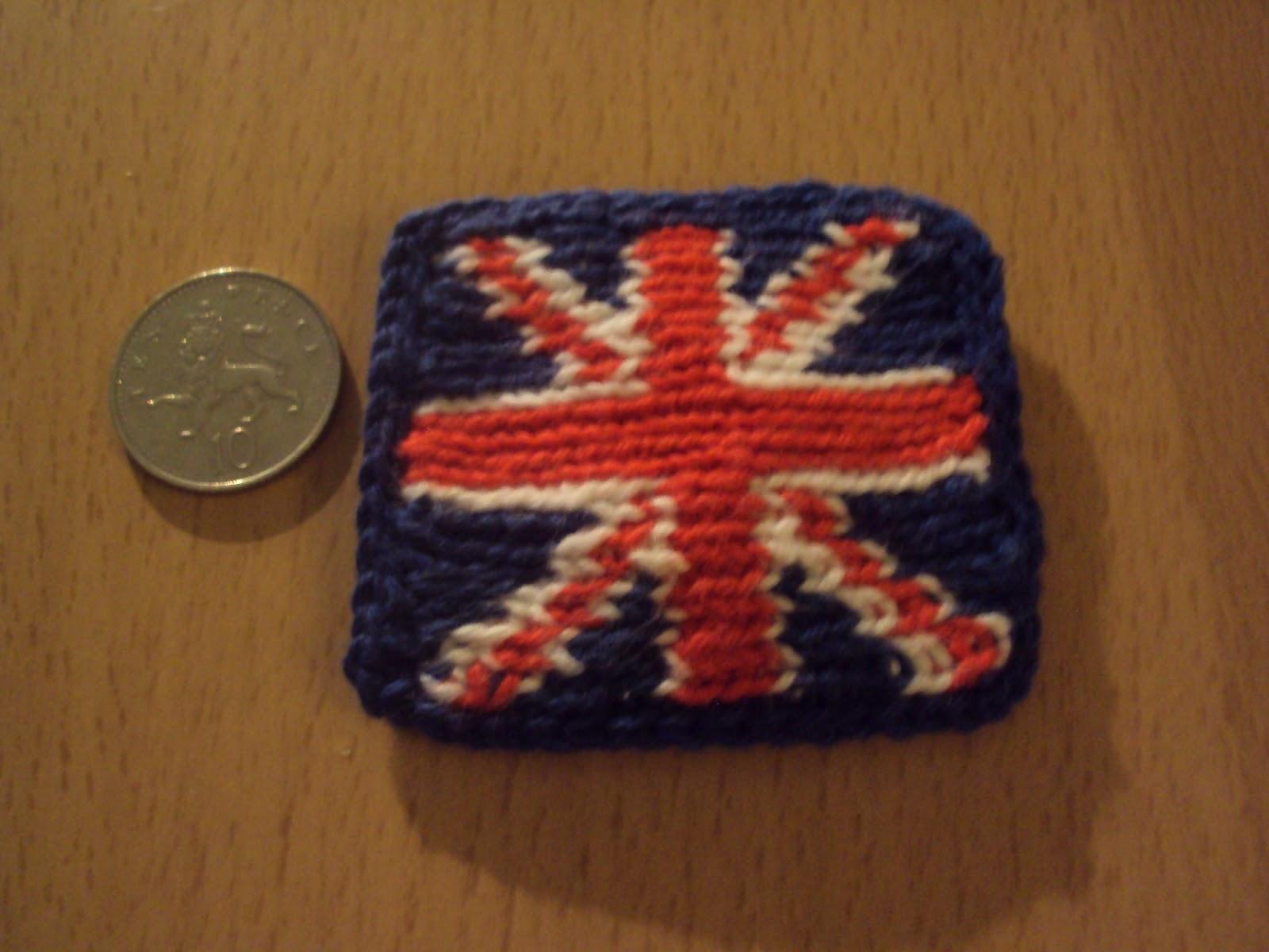 Crochet Pattern Union Jack : Mrs Crafty B: Crocheted Union Jack