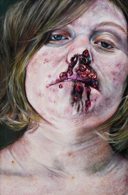 Violência contra a mulher nas pinturas de Amanda Joseph