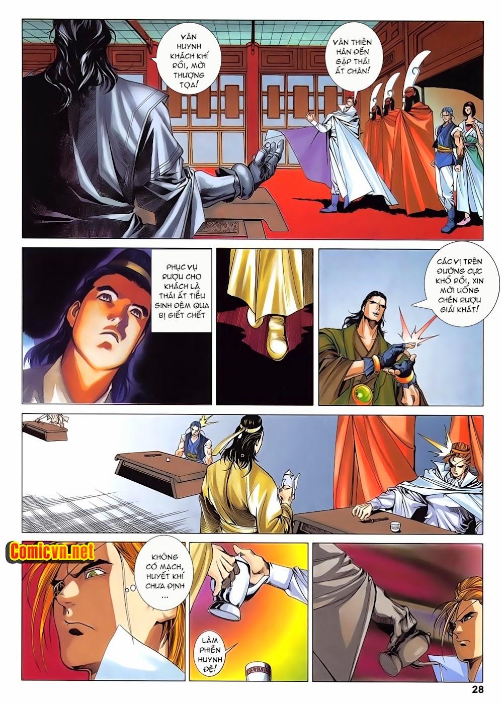 Lục Đạo Thiên Thư chap 14 - Trang 28