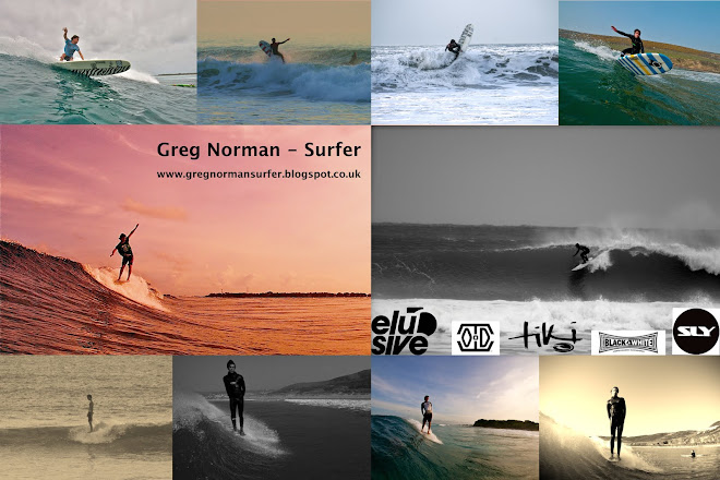 Greg Norman - Surfer