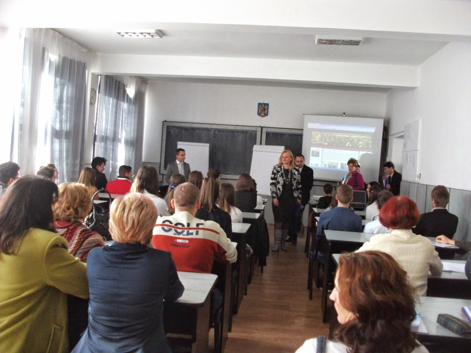 Aspecte din timpul desfăşurării cercului pedagogic nr. 1, 12.11.2014...