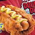 ciao arterie: kfc lancia l'hot dog fatto di pollo fritto