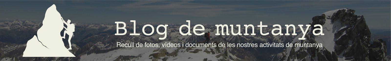 Blog de muntanya