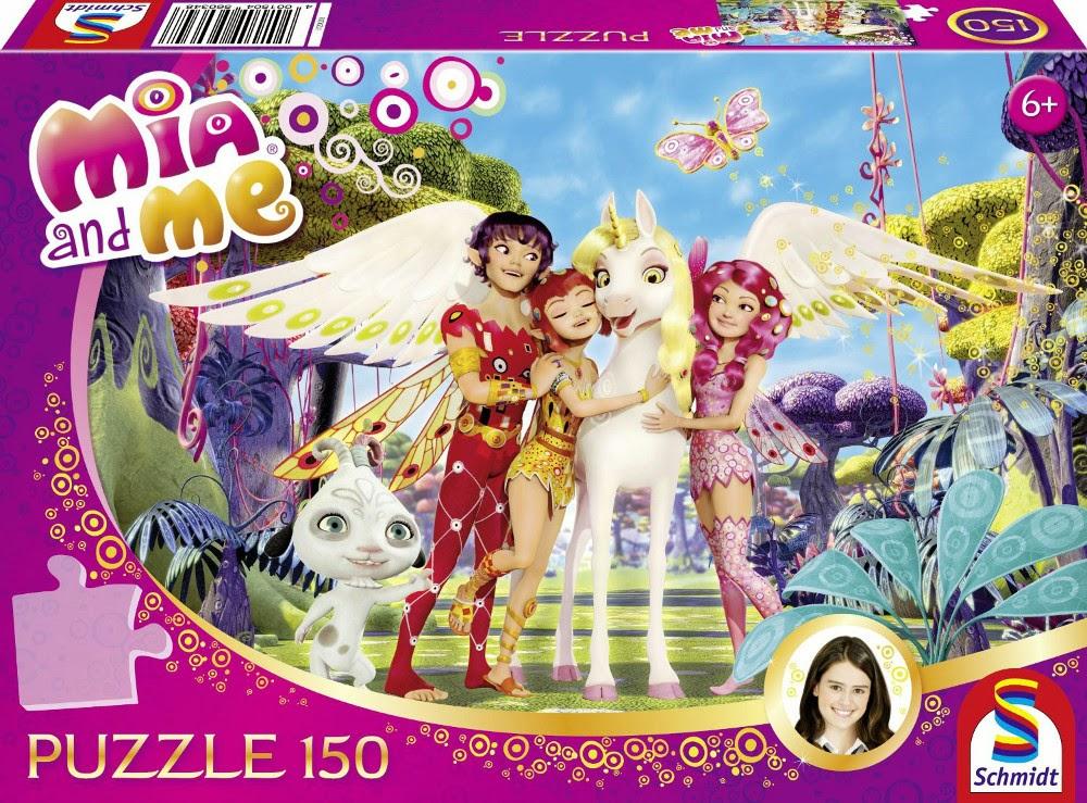 TOYS - Puzzle de 150 piezas : Mia And Me  Marca Schmidt | A partir de 6 años