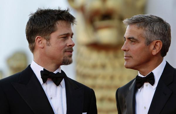 Clooney amp pitt