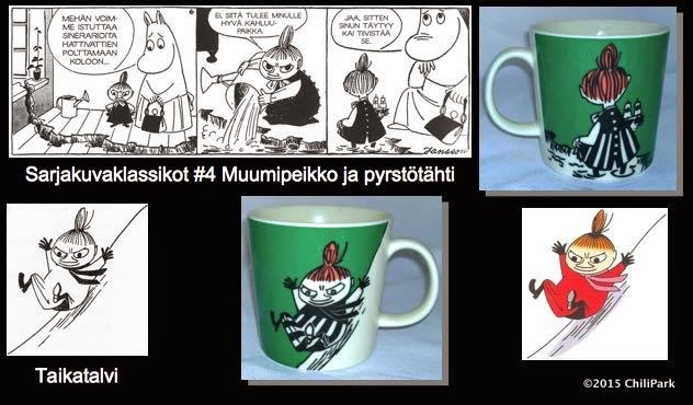 Moomin mug, Little My Sliding
