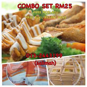 COMBO SET RM25 FREE POSLAJU