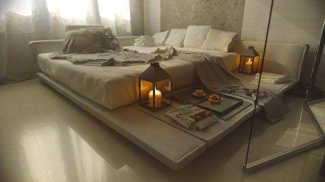 Deco chambre interieur chambres coucher avec des for Deco chambre avec palette