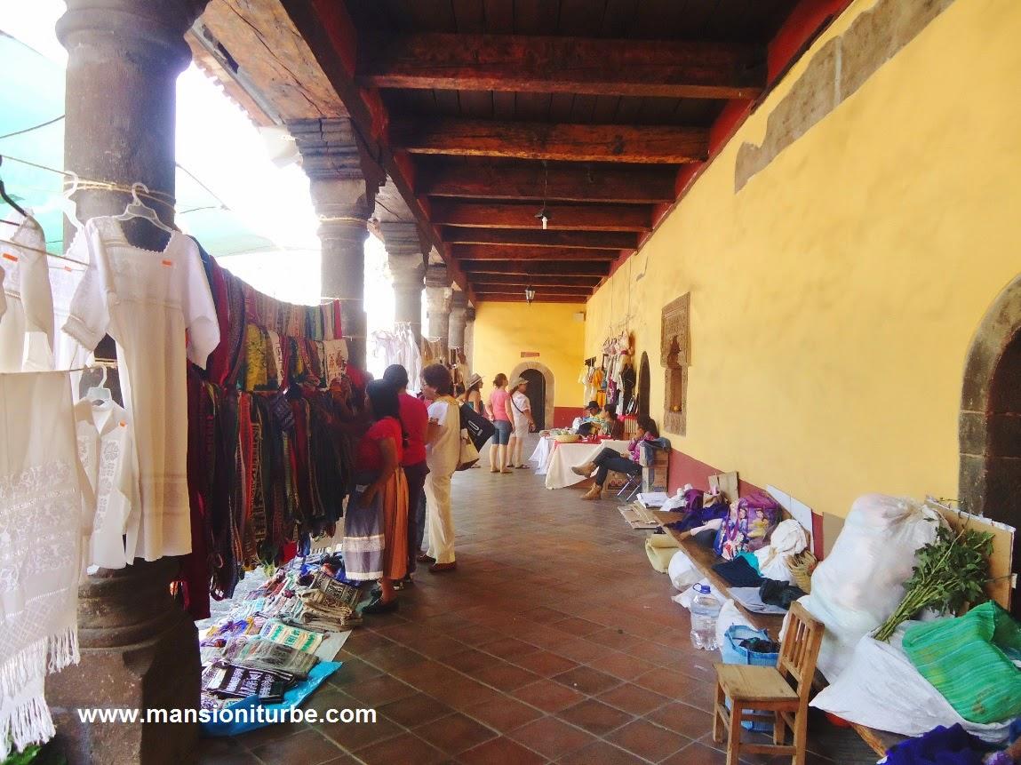 Textiles of Mexico in Uruapan at the Palm Sunday Artisan Fair.