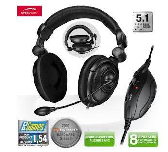 Gaming-Headset Medusa NX 5.1 (SL-8795-SBK) bei iBood für 40,90 Euro