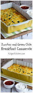 Zucchini and Green Chile Breakfast Casserole (Low-Carb, Gluten-Free) [from KalynsKitchen.com]