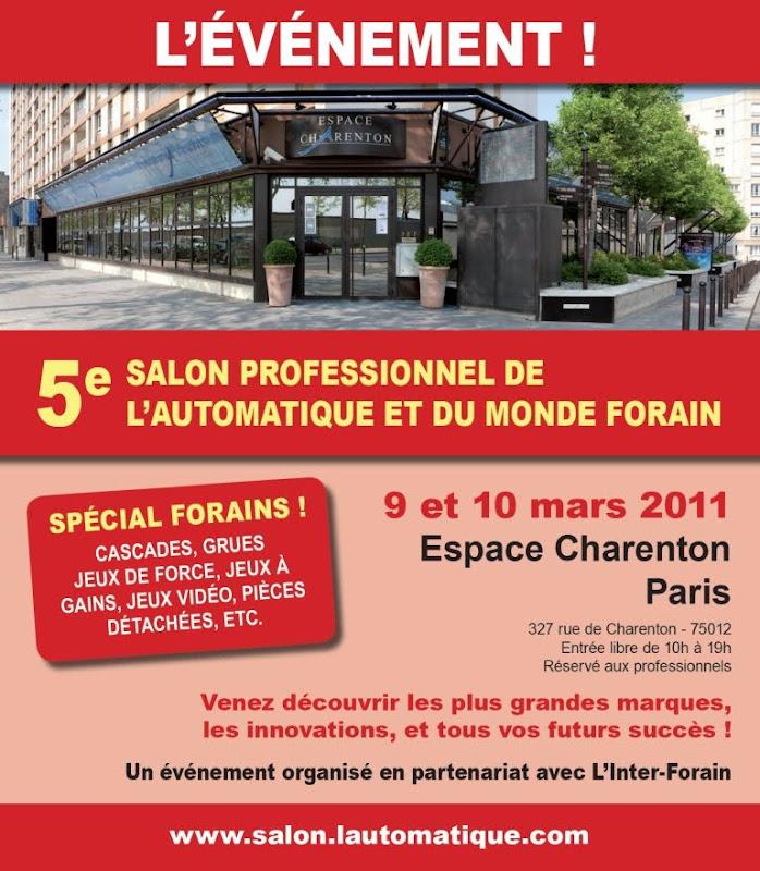 Burguscircus 5e salon professionnel de l 39 automatique et for Salon professionnel