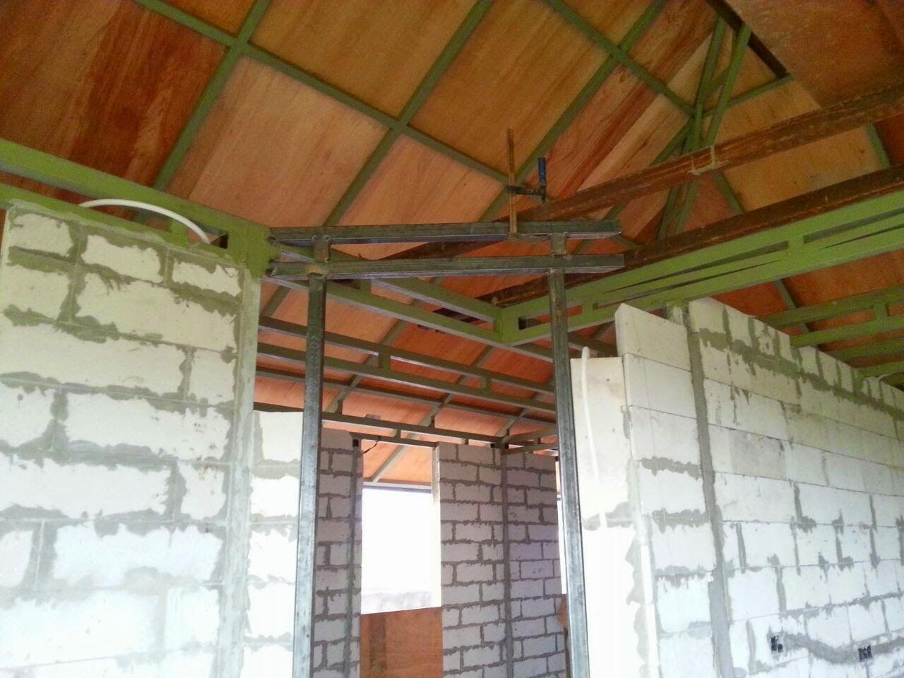 Verputzen, Türrahmen und fertige Dachabdichtung | Hausbau Yeh Sumbul ...