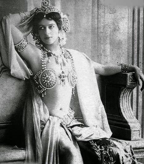 bailarina, biografías, exotica, historia, mata hari, primera guerra mundial