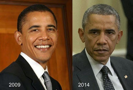Obama's Changing Looks