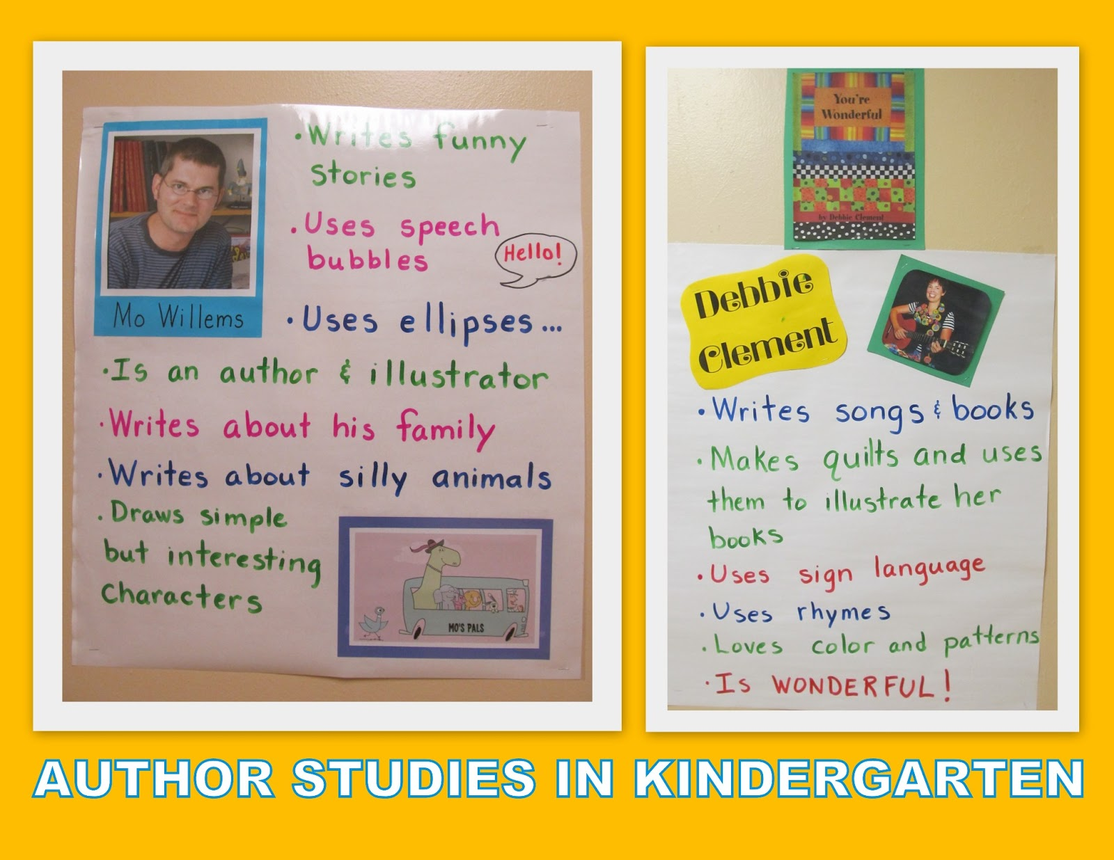 Author Study of Mo Willems - YouTube