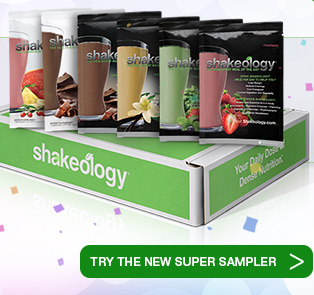 Try a Sample Pack of Shakeology!