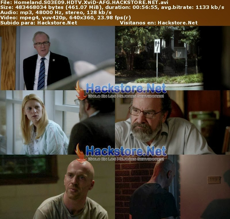 Captura Homeland Tercera Temporada