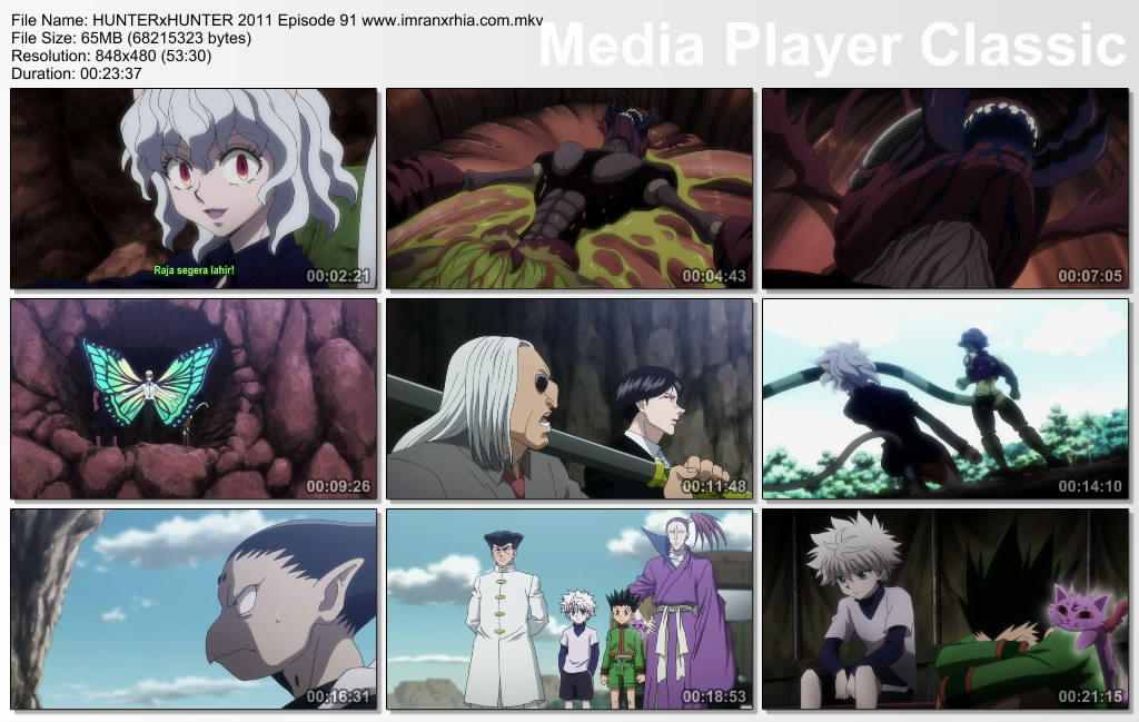 "Download Film / Anime Hunter x Hunter 2011 Episode 91 ""Kuat dan Lemah"