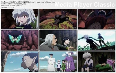 "Download Film / Anime Hunter x Hunter 2011 Episode 91 ""Kuat dan Lemah"" Bahasa Indonesia"