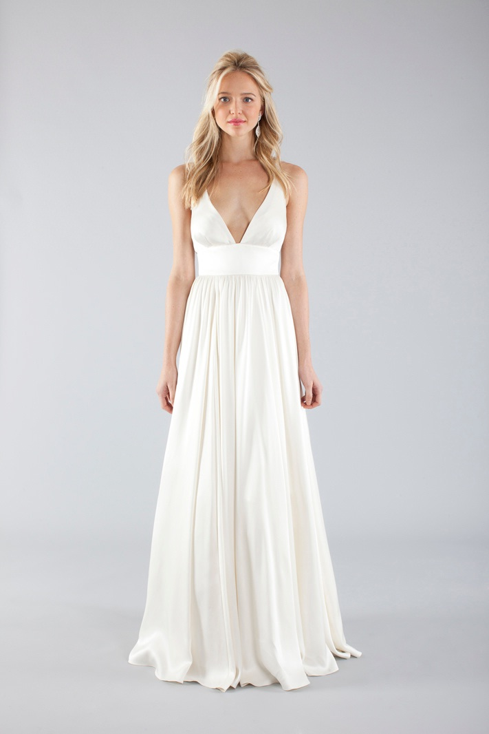 Nicole miller 2013 fall bridal wedding dresses for Dresses for a fall wedding