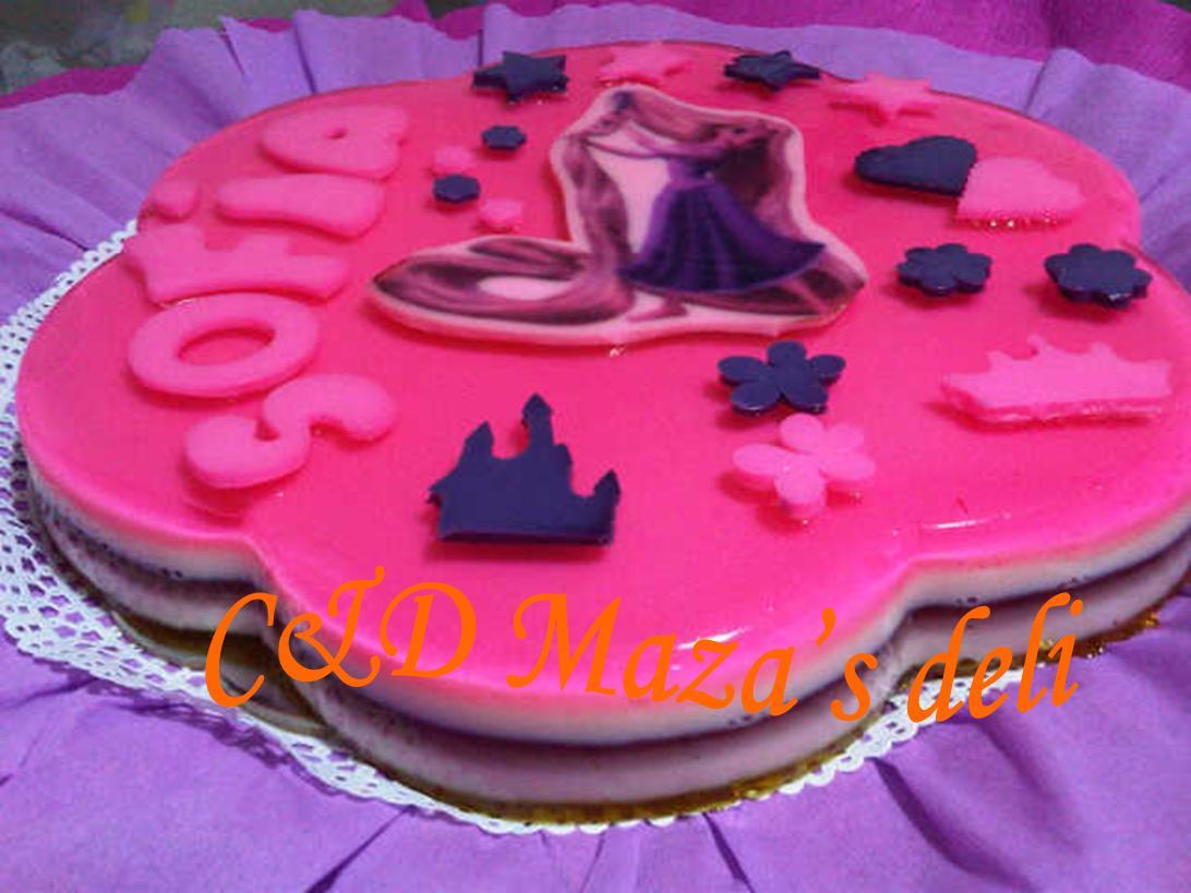 C&D Mazas Deli: Torta castillo de Rapunzel
