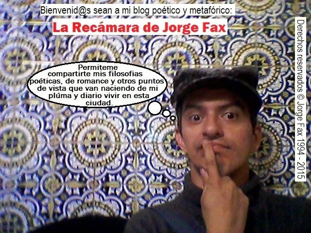 La recámara de Jorge Fax: