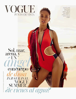 Adriana Lima Hot PhotoShoot for Vogue Spain Magazine (May 2014)