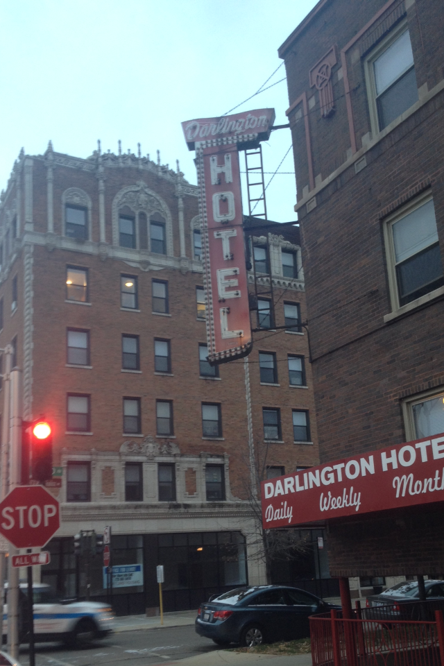Darlington Hotel in Chicago Uptown neighborhood
