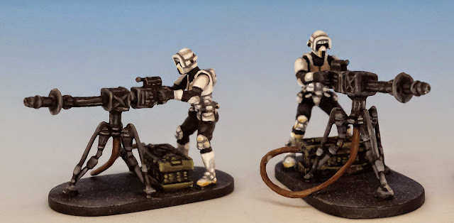 E-Web Blaster, Imperial Assault (2014, sculpted by Benjamin Maillet, painted by M. Sullivan)