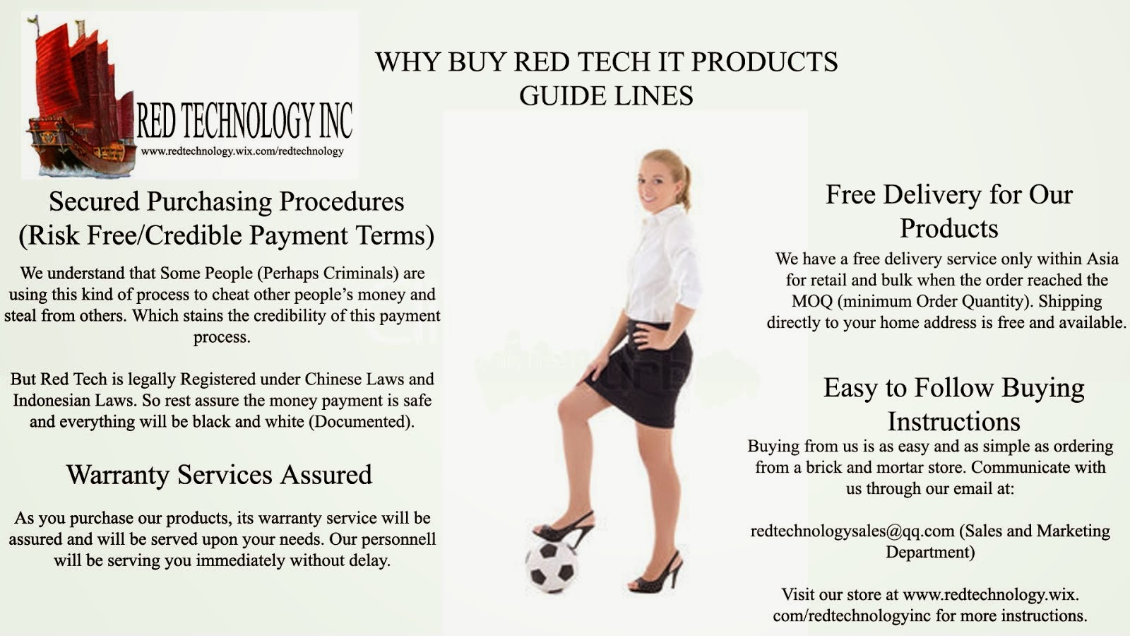 Why You Buy from Red Tech