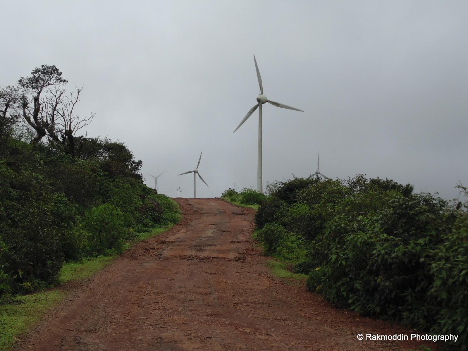 Chalkewadi windmills farms near Satara