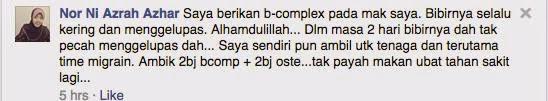 vitamin B-complex, tanda-tanda kekurangan vitamin B-complex, Kandungan B-Complex, B-complex menyebabkan kegemukan, testimoni vitamin B-complex