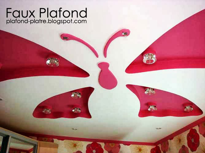 Pin desain plafon on pinterest for Decoration faux plafond avignon