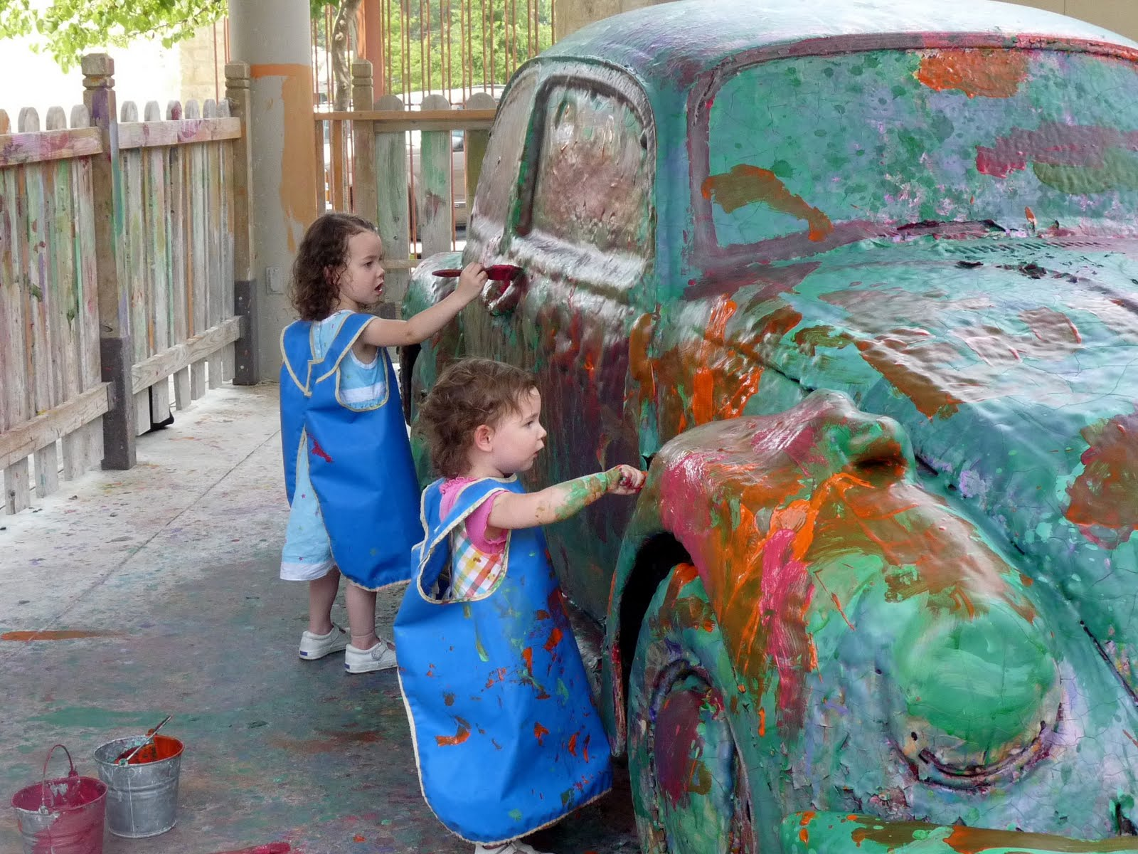 loads of fun painting an old vw beetle - Fun Pictures To Paint