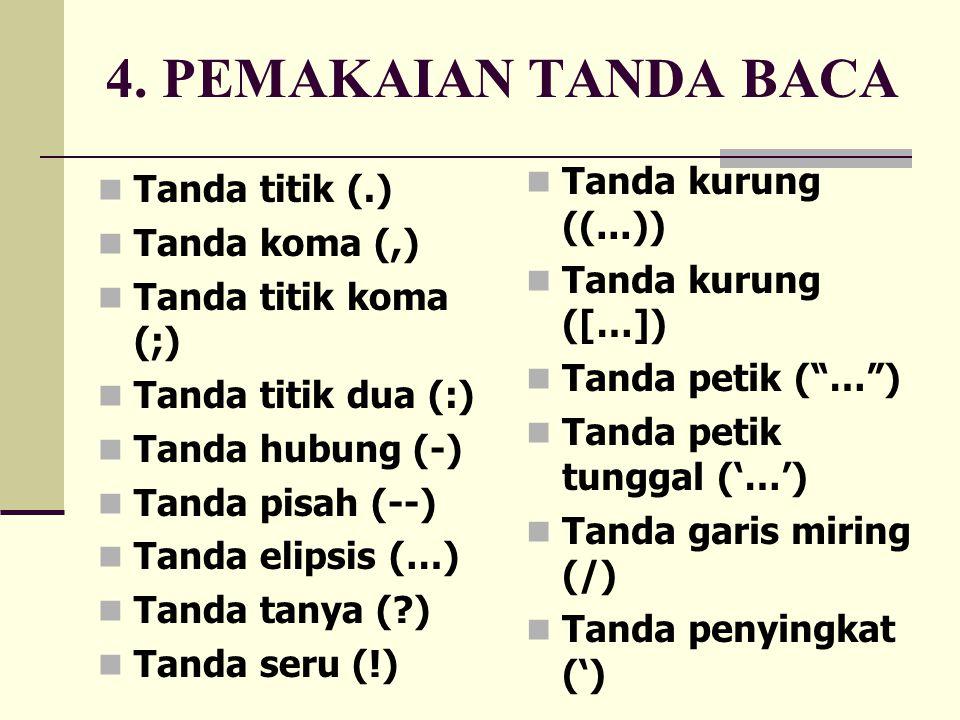 Mahendra Gunadarma Eyd Dan Tanda Baca
