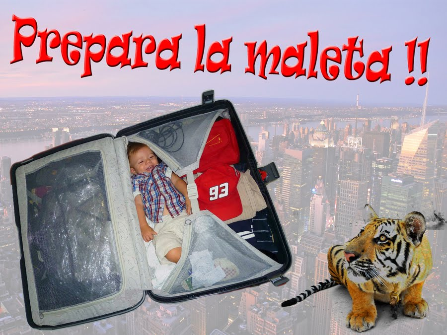 PREPARA LA MALETA!!!
