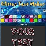 Glitter Text Maker