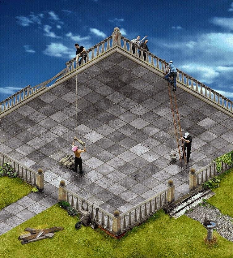 Τα όνειρά μας δεν χωράνε μέσα στων τριών διαστάσεων τα κελιά τους...