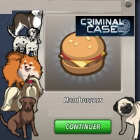 CRIMINAL CASE: OUR FAITHFUL 4-LEGGED COMPANIONS ARE IN DANGER IN THIS NEW SURVEY! DISCOVER WHICH KILLS AND WIN A HAMBURGER!