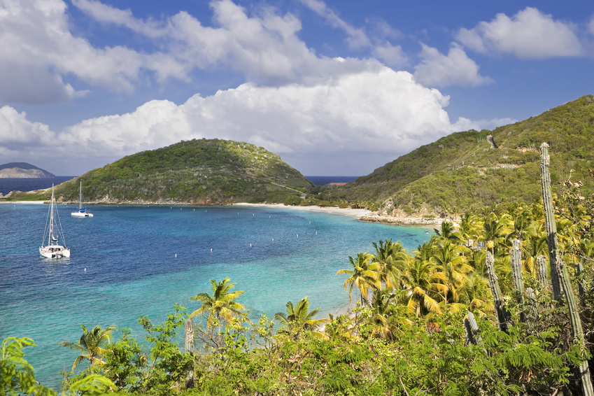 white bay, jost van dyke, british virgin islands