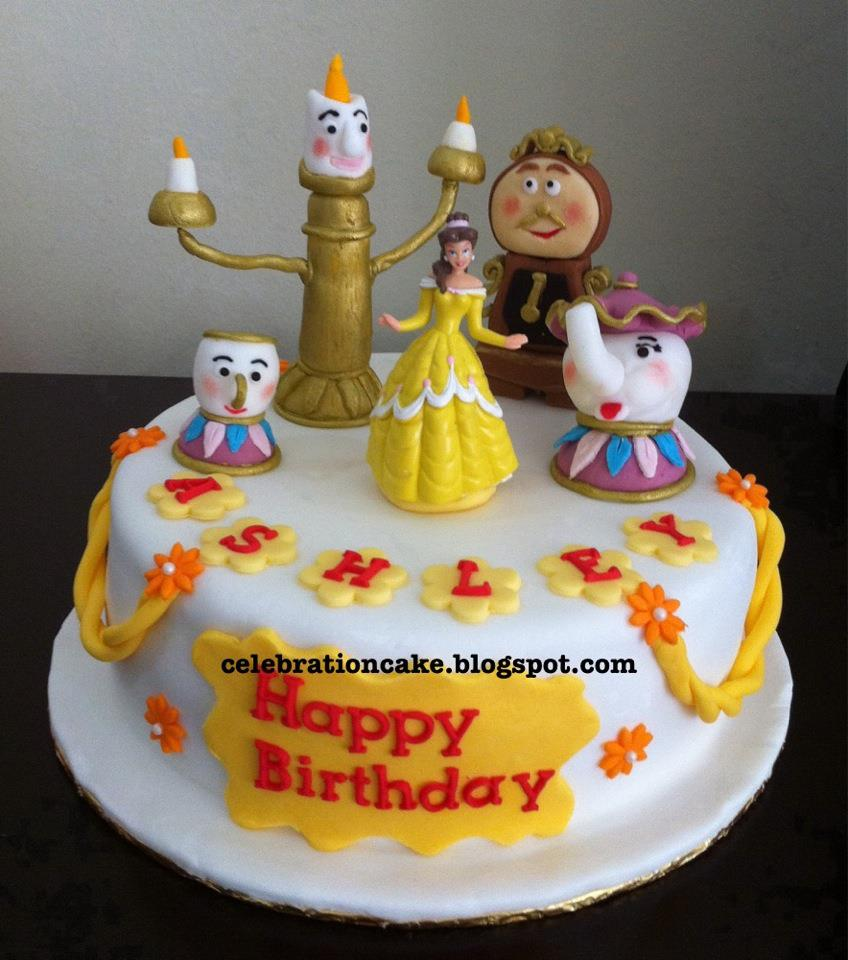 Celebration Cake Beauty and the Beast