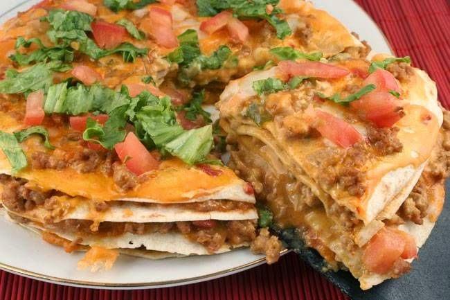 Tortilla pizza Tarifi Kolay Yapımı